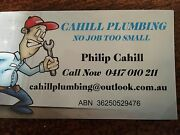 CAHILL PLUMBING:     honest, professional, affordable Beaconsfield Upper Cardinia Area Preview