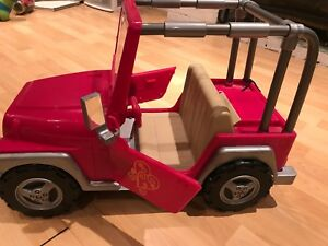 Like Brand New- Our Generation Jeep for American Girl dolls