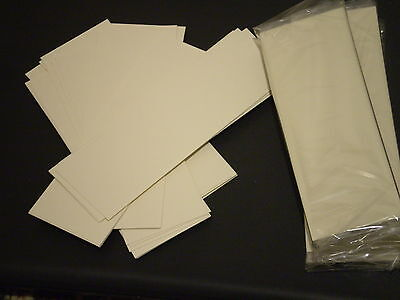 25 Pack IVORY CARD BOOKMARKS BLANKS 146mm x 50mm DIY MAKING CRAFTS