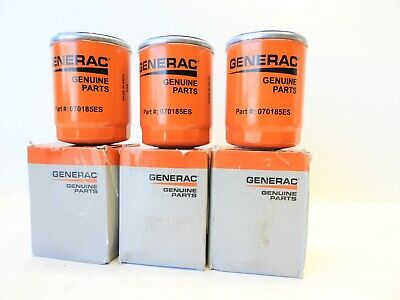3 Pack- Generac- Oil Filter Part 070185e 070185es