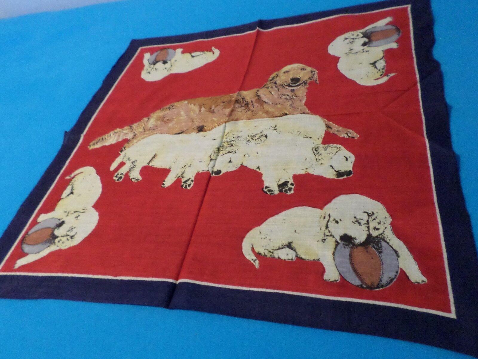 ein Kopftuch Halstuch Nickituch Hundemotivverschied. Farben