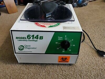 Used Quest Diagnostics Model 614b Laboratory Centrifuge As Is
