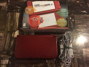 "Almost mint ""NEW"" 3DSXL console W/charger & original box!!!"