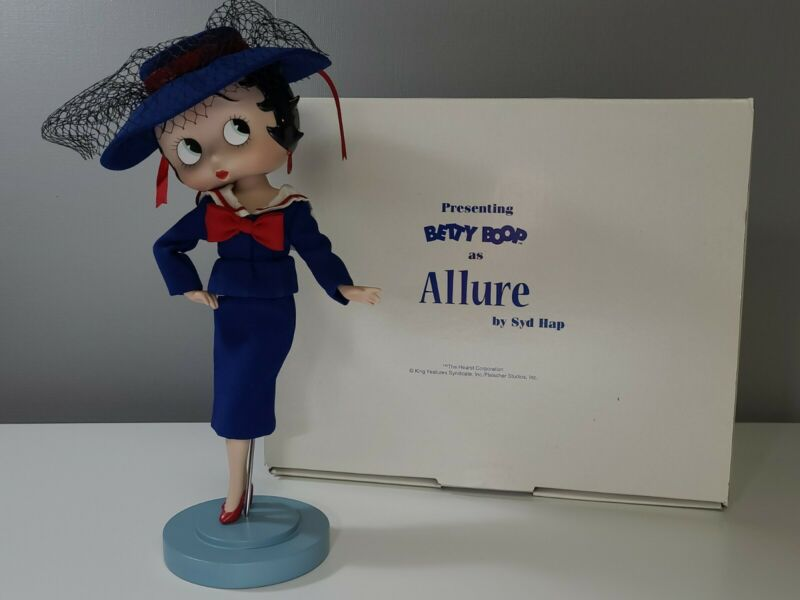 Danbury Mint Betty Boop as Allure Porcelain Doll By Syd Hap with signature. EUC