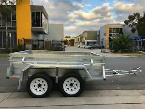 8x5 HEAVY DUTY HIGHSIDES TANDEM TRAILER GALVANISED Cardiff Lake Macquarie Area Preview