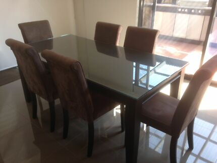 7 Piece Dining Table Set  Newtown Geelong City Preview