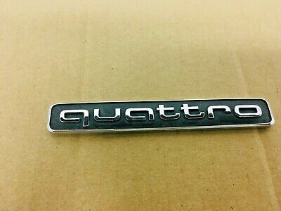OEM 2016 2017 2018 Audi Q7 Quattro Emblem 4M0853737