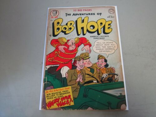 The Adventures of Bob Hope #8 Comic Book 1951