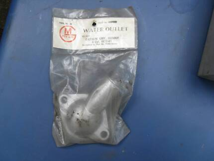 DATSUN 120Y, SUNNY 4 CYL 1977- 81 WATER OUTLET NOS