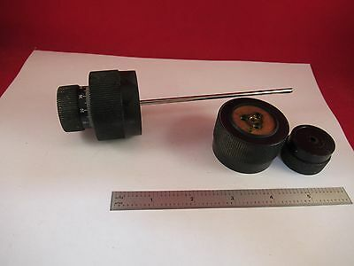 Leitz Laborlux Knobs Pair Assembly Microscope Part F7-07