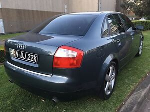 Audi A4 1.8 turbo Quattro 2004 auto leather Beaumont Hills The Hills District Preview