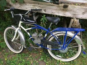 Motorized Schwinn bicycle
