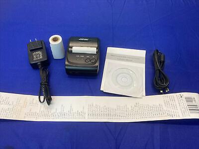 Agptek Bluetooth Receipt Printer Model Sc28 58mm Wide Thermal