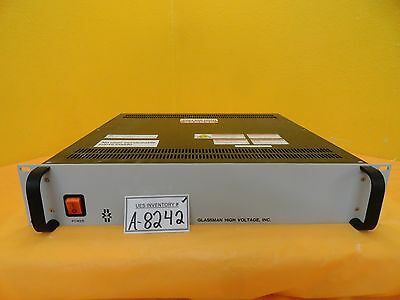 Glassman Pser06n25.0yza 6kv Power Supply Amat 9090-01265itl Used Working