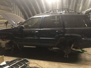1999-04 Jeep Grand Cherokee part out