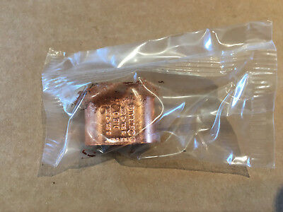 1 - Burndy Yghc2c2 Hytap 6-2 To 6-2 Compression Ground C Tap Connector - New