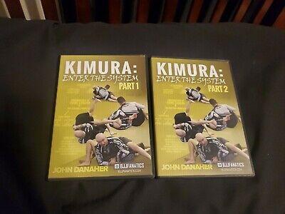 Kimura Enter The System John Danaher Bjj Jiu Jitsu Dvd
