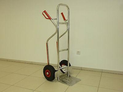 Alu-Sackkarre 200 kg mit PVC-Felgen RLW - Fertigung in Europa !!