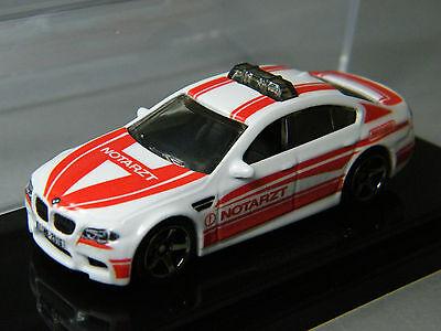 Matchbox 2016 Leipzig Messemodell BMW M5 Notarzt Ambulance 1 of 500 crystal case Crystal Messer
