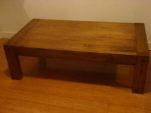 Solid Wood Coffee table Claremont Nedlands Area Preview