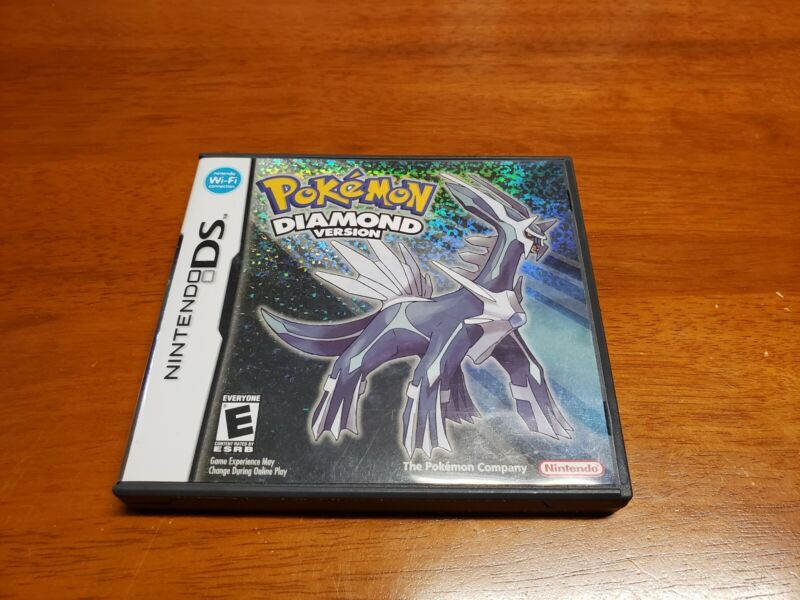 Pokemon: Diamond Version (Nintendo DS) Original Case and Manual Only
