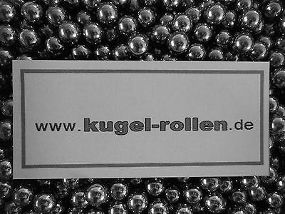 ab 500 Stück  Stahlkugel 6 mm  Zwille Schleuder Softair BB Stahlkugeln ...