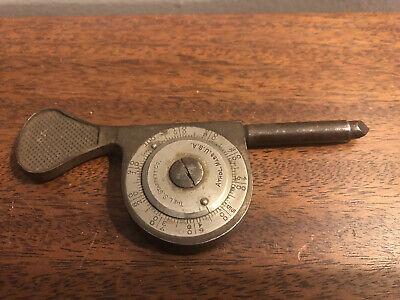 Antique 1890s L.s. Starett Co. Tools Speed Indicator Athol Massachusetts Rare