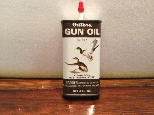Outers Gun Oil Handy Oiler 3 oz Ducks Mallards 445a Onalaska WI Hunting