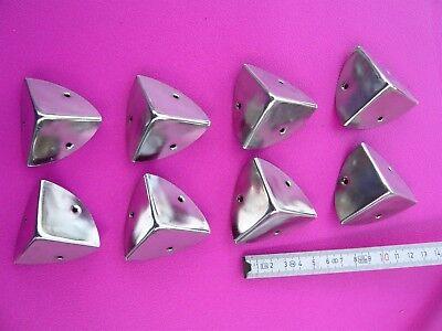 Renforts de coins métalliques 8 pièces pour flight case DJ protection