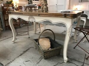 Antique Vintage Retro French Style Dining Table