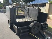 Trailer with cage and storage Magill Campbelltown Area Preview
