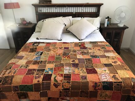 Bali style bedroom suite