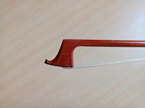 Great pernambuco wood,- perfect silver violin bow by Vl. Monomax