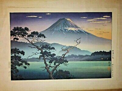 EXCEPTIONAL Original 1950's or earlier Japanese Woodblock print KOITSU