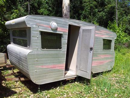 Viscount original aluminium caravan classic