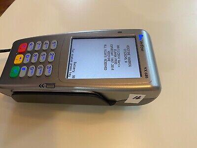 Verifone Vx680 Wireless Mobile Credit Card Terminal W Power Adapter - 16