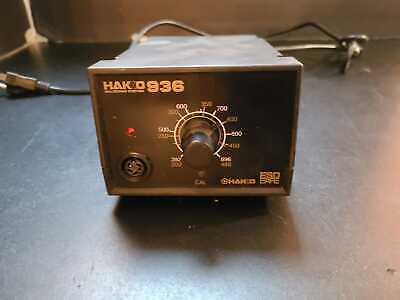 Hakko 936 Adjustable Temperature Esd-safe Solder Station