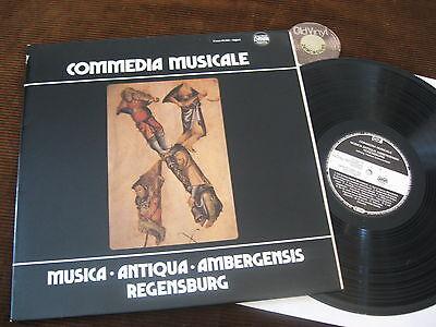 LP Commedia Musicale Antiqua Ambergensis Schwämmlein Germany 1987 | M-