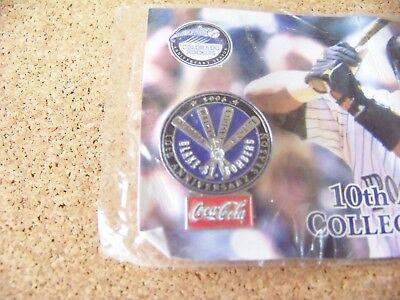 2002 Colorado Rockies Pin  4 Coca Cola King Soopers 10Th Anniversary Year