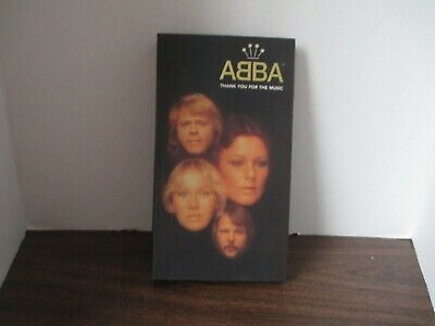 Thank You for the Music [CD Box Set] by ABBA (Apr-1995, 4 Discs, Polydor) VG
