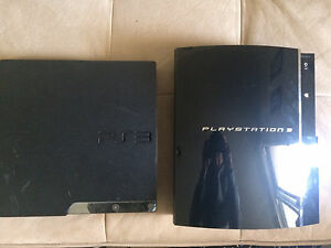 Two PS3's For Parts!