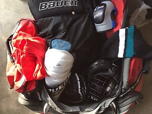 Hockey Gear Equipment (whole set or individually) like new