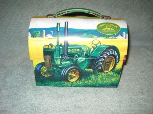 "2007 John Deere Mini Lunch Box 7"" Length, 5.5"" Tall and 3.5"" Wide"