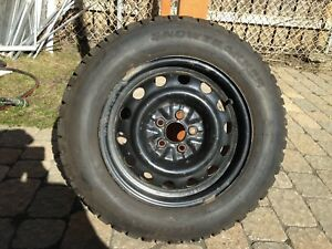 195/65R15 Pneus et jantes d'hivers - Winter tires and rims