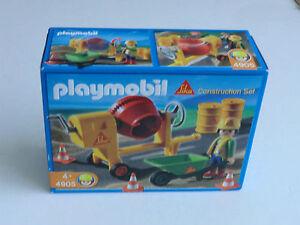 Playmobil SIKA 4905  Baustelle Construction Set Betonmischer NEU OVP super rar