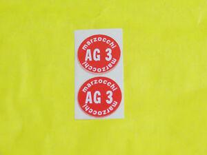 COPPIA-ADESIVI-SERBATOI-AMMORTIZZATORI-MARZOCCHI-AG-3-MOTO-D-039-EPOCA