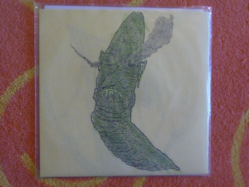 """LUMPY & THE DUMPERS Sex Pit 45 rpm 7"""" w/ PICTURE SLEEVE Crayon Sleeve 2014"""