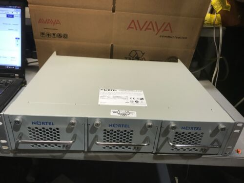 AVAYA NORTEL RPSU15 CHASSIS with 7x RPS15 PSU Power Supply LOT OF 3