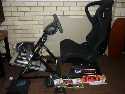 Racing simulator cockpit GT Ultimate