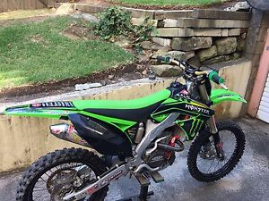 KX250F 2010 pro circuit special edition Bondi Eastern Suburbs Preview